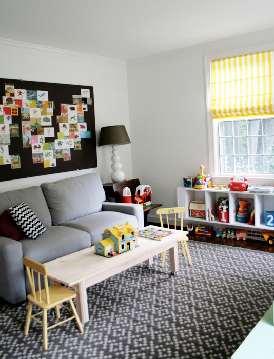 The fancy life playroom inspiration for Playroom living room ideas