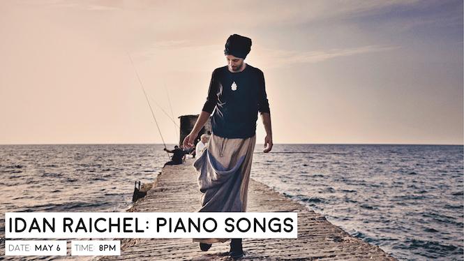 Idan Raichel: Piano Songs - Events - Luckman Fine Arts Complex