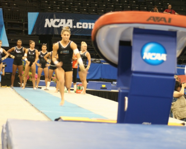 Pictures From The 2012 Ncaa Women S Gymnastics