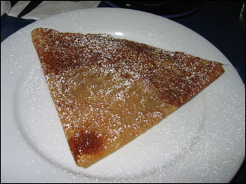 galette with salted butter and vanilla sugar - $4