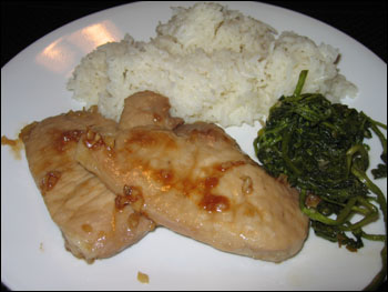 pork chops with red wine vinegar reduction