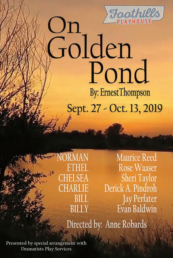 The Anderson Observer Arts Still Time To See Foothills Playhouse On Golden Pond