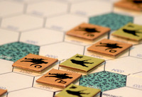 Strike Force One Board Game Review - Wargame in play