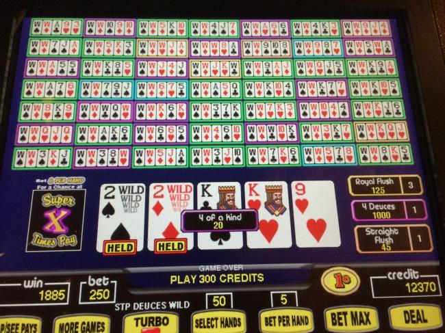 Video poker skill or luck lee childs poker training
