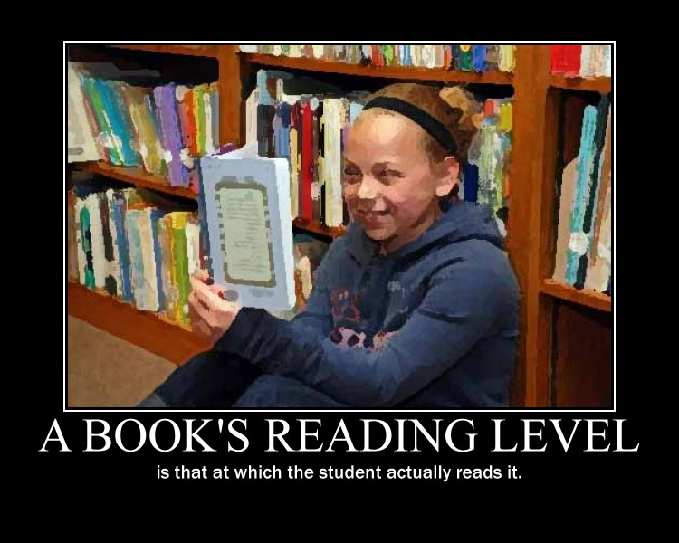 Reading levels - more political than educational