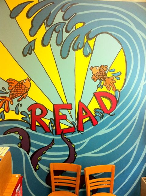 library murals - a pet peeve - home