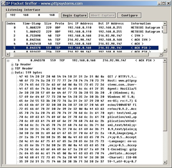 Got reading material? - FROZEN: IP Packet Sniffer
