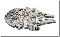 LegoMillenniumFalcon