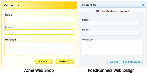 Sample Contact Forms