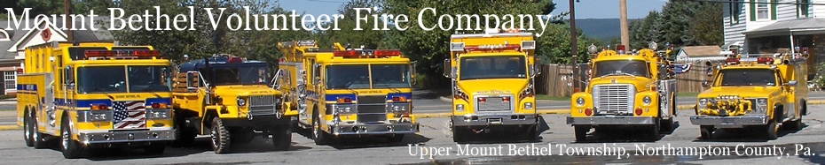 Mount Bethel Volunteer Fire Company