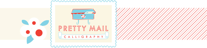 Pretty Mail Calligraphy