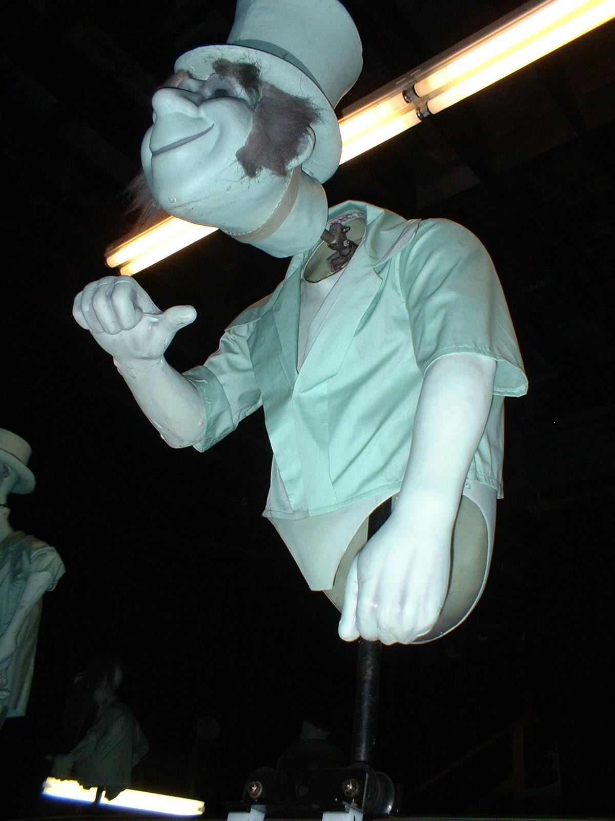 ABANDONED DISNEY Haunted Mansion Hitchhiking Ghosts