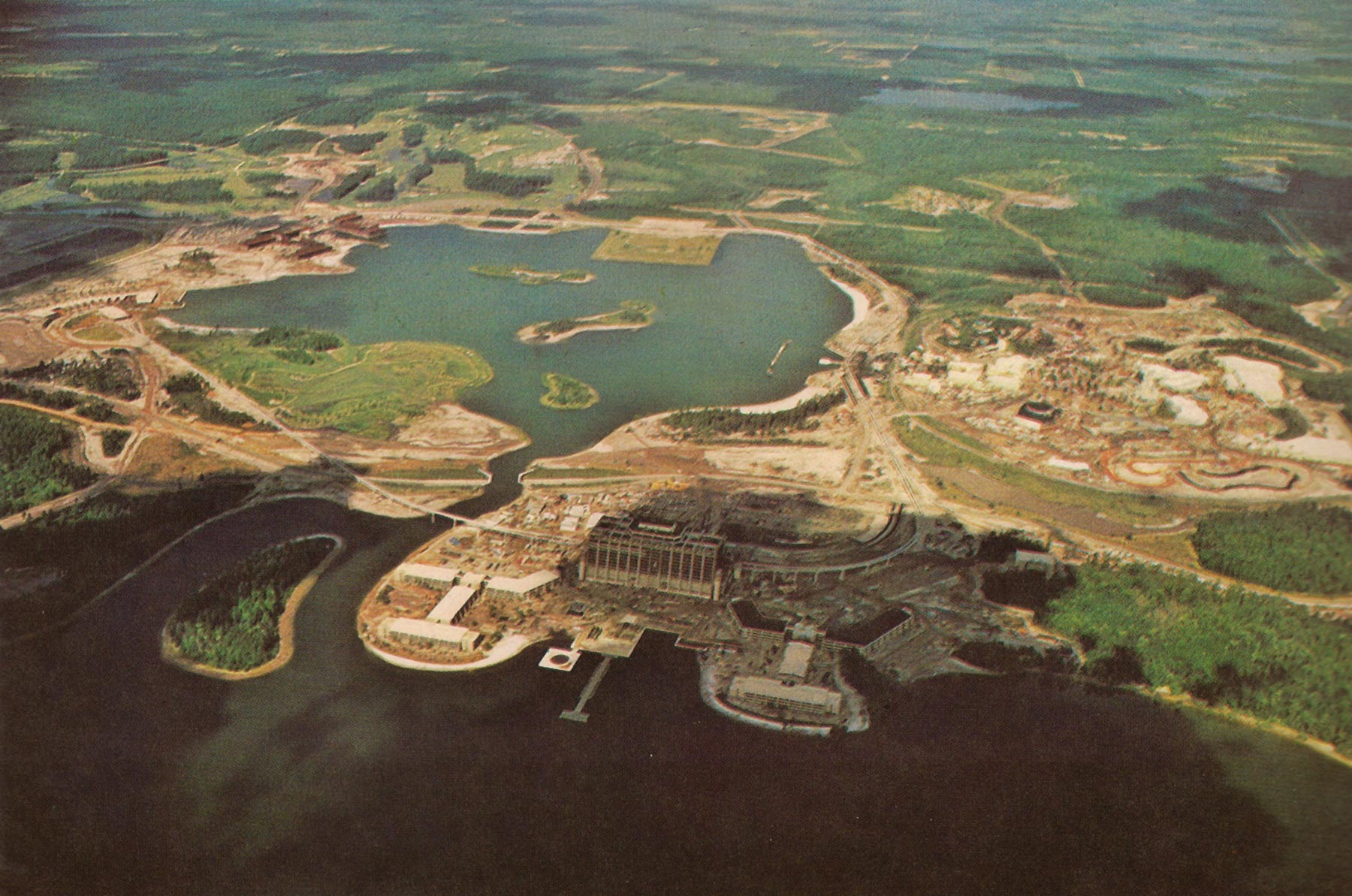 Superb WDW Before Opening Day 1971