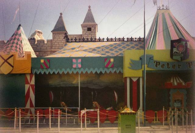 New fantasyland 1983 imagineering disney for Disneyland mural