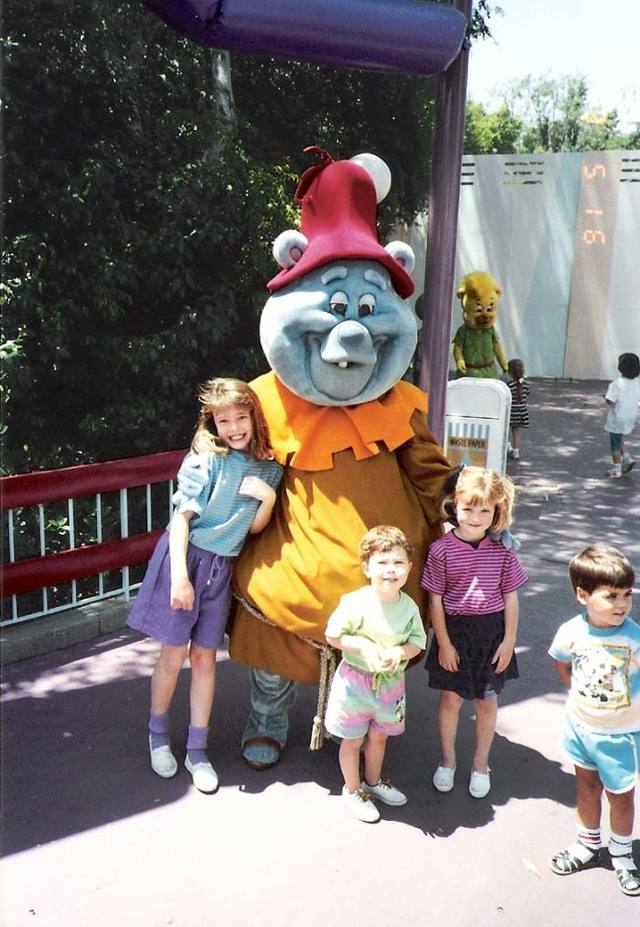 Disney Afternoon Avenue 1991 Part 1 Vintage Photos