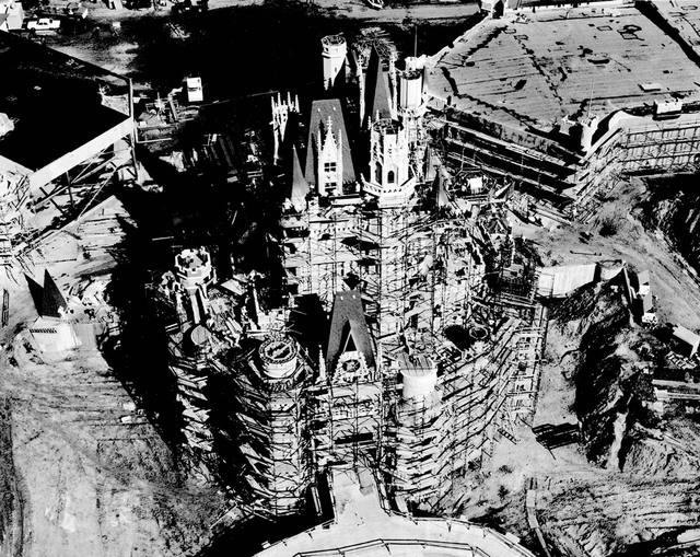 Wdw Construction Cinderella Castle Imagineering Disney