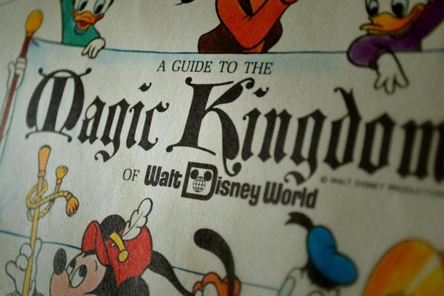 Magic Kingdom Map Found in a Main Street Wall - Imagineering Disney -