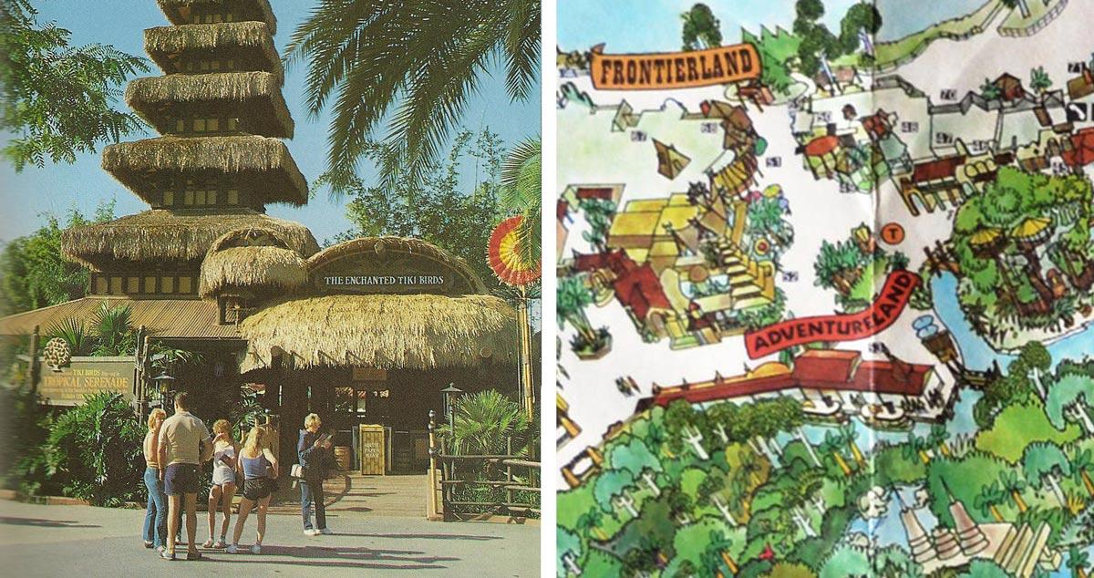 Adventureland Disney World Map.Magic Kingdom Map Found In A Main Street Wall Imagineering Disney