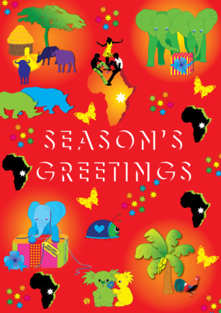 a very merry christmas to you all from the team at african greetings ltd and heres hoping that 2012 will bring you joy happiness and good health