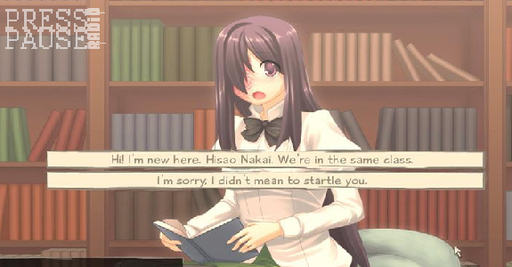 katawa shoujo how to start hanako route
