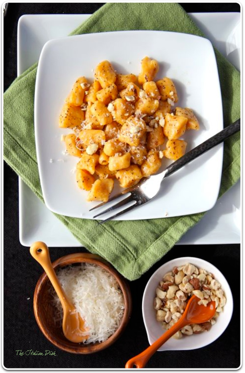 The Italian Dish - Posts - Sweet Potato Gnocchi with Hazelnuts
