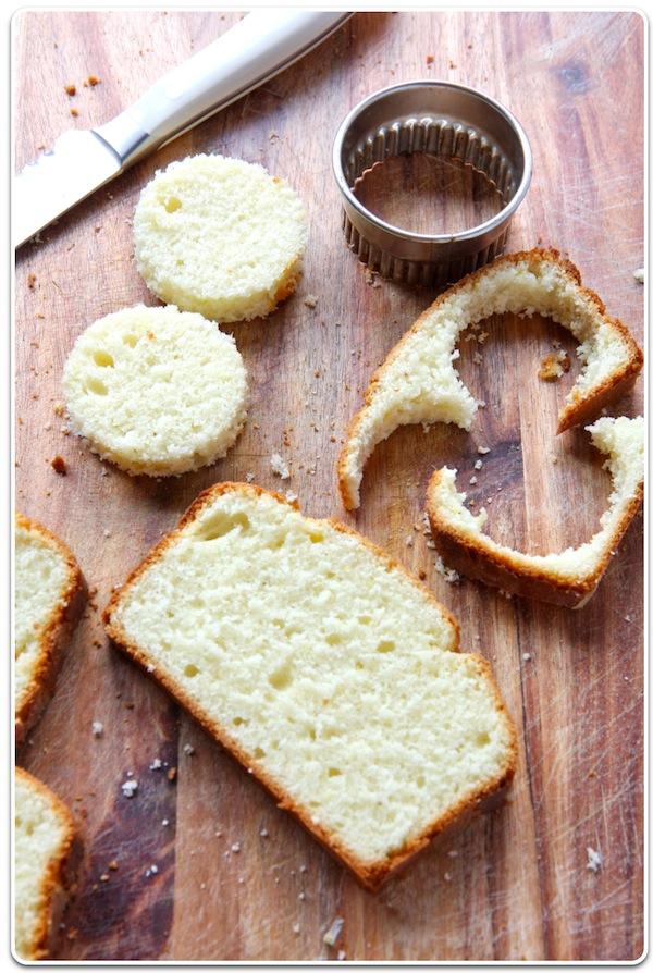 Lemon Pound Cake Parfait in Mason Jars | Undercover Hostess