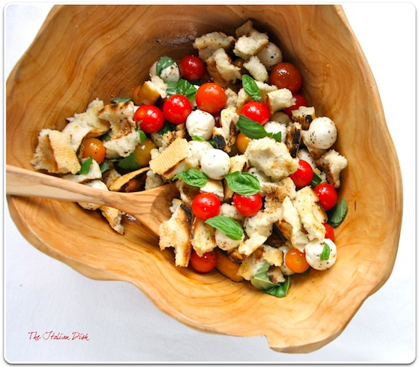 The Italian Dish - Posts - Grilled Panzanella Salad