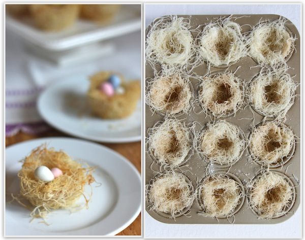 The italian dish posts edible easter egg nests forumfinder Image collections