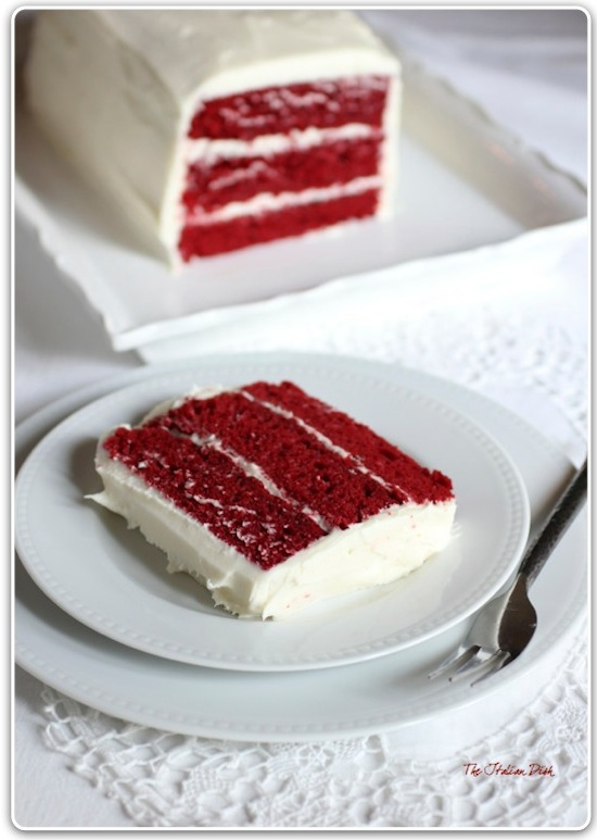 2 layer red velvet cake recipe