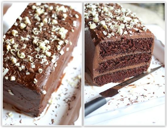 My favorite way to make a layer cake