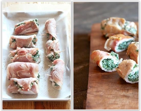 ... - Pamela Sheldon John's Pork Rolls Stuffed with Ricotta and Spinach