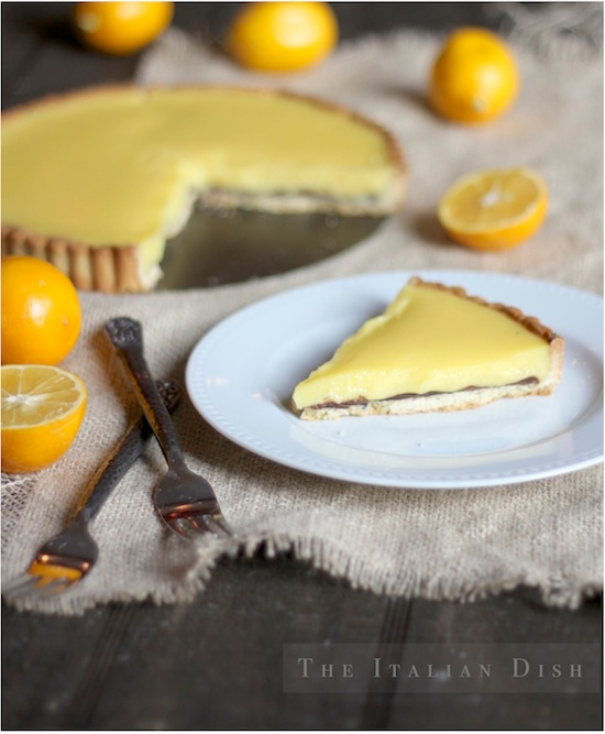 ... Italian Dish - Posts - Suzanne Goin's Meyer Lemon Tart with Chocolate