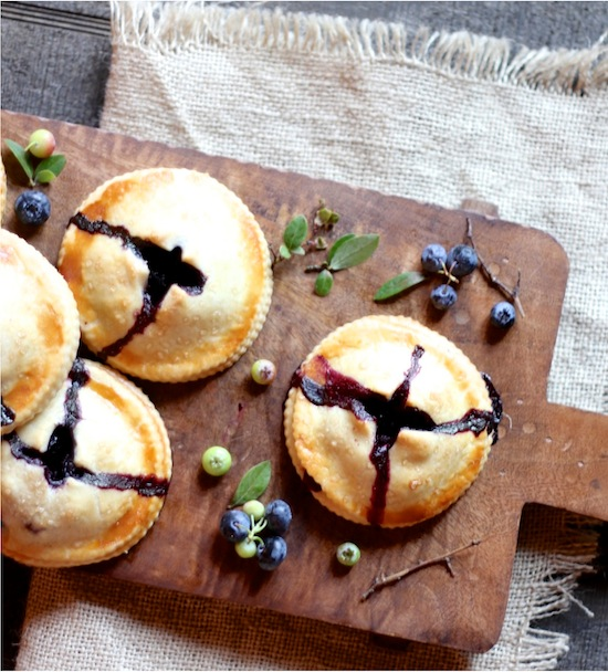 The Italian Dish - Posts - Blueberry Hand Pies