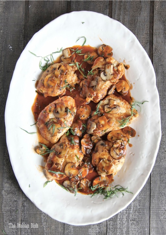 the italian dish posts tarragon chicken