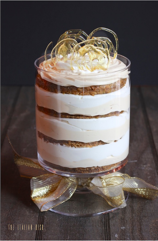 ... Italian Dish - Posts - Pumpkin Cake and Salted Caramel Mousse Trifle