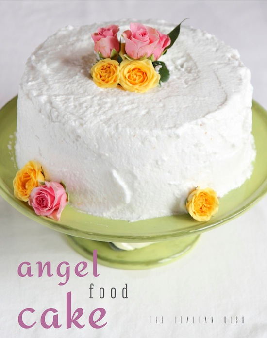 What Do You Put On Angel Food Cake