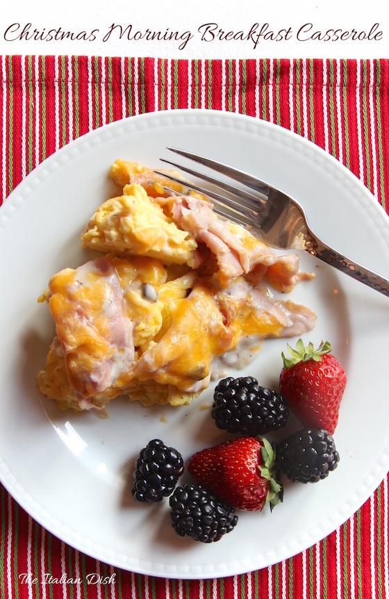 the italian dish posts christmas morning breakfast casserole