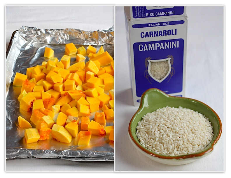 ... cup dry rice per serving. Roasted Butternut Squash Risotto with Sage