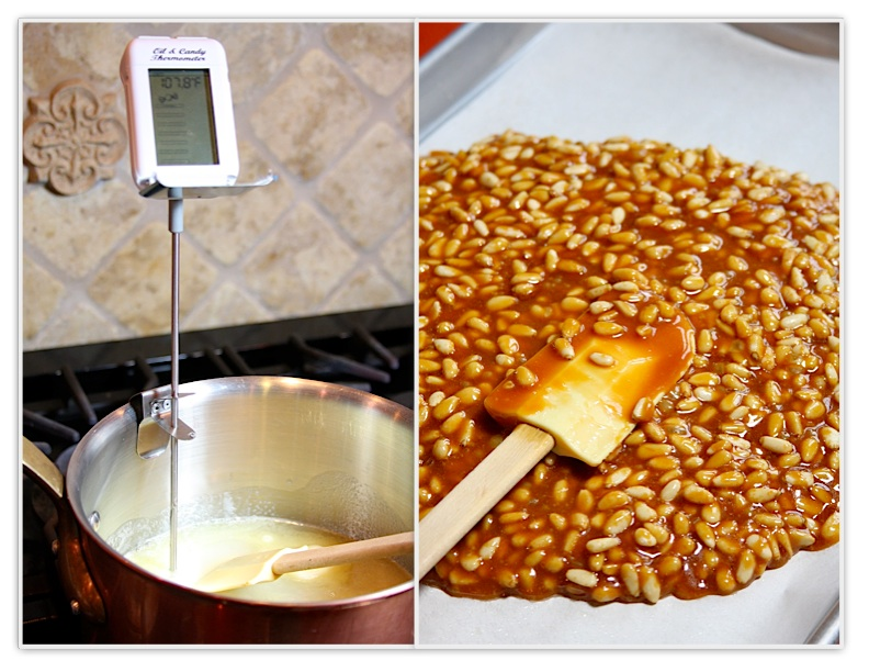 how to make nut brittle uk