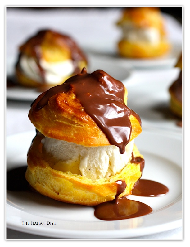Cream Puffs can be stored in an airtight container at room temperature ...