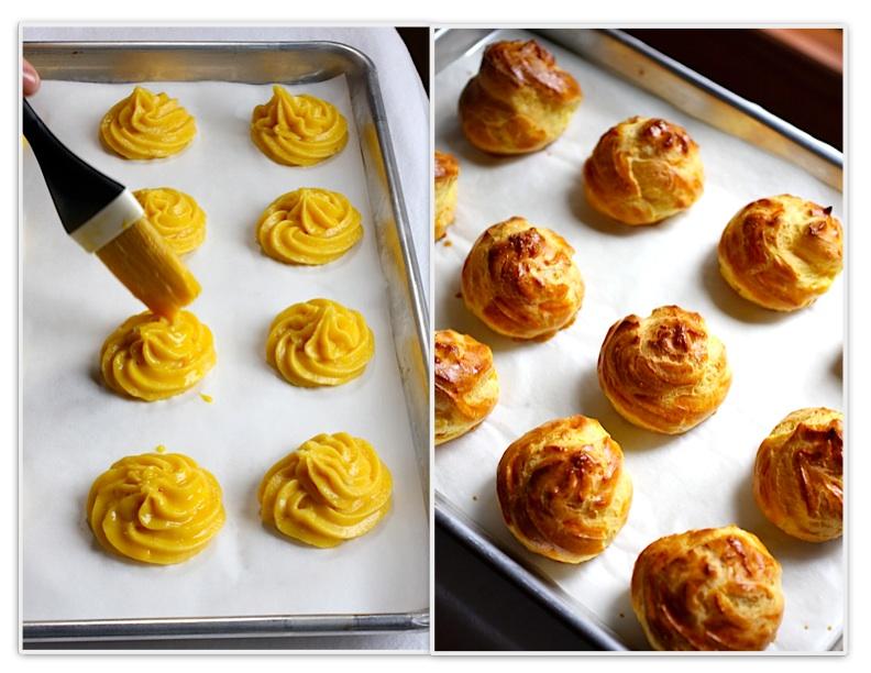 Learn to make pâte à choux dough for beautiful cream puffs