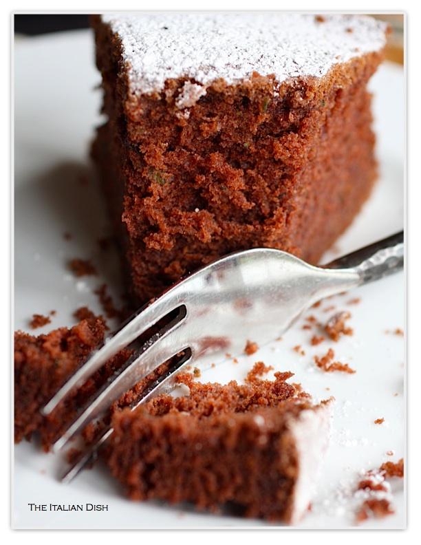 GIOVANNA COUTURE ITALIA: Chocolate Zucchini Cake