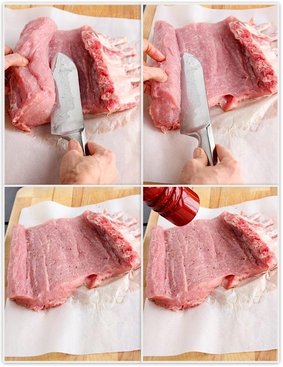 Butterfly cut pork loin recipe
