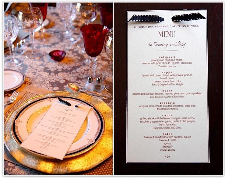 Beautiful Dinner Party Ideas Menu Part - 9: Auction Dinner Party