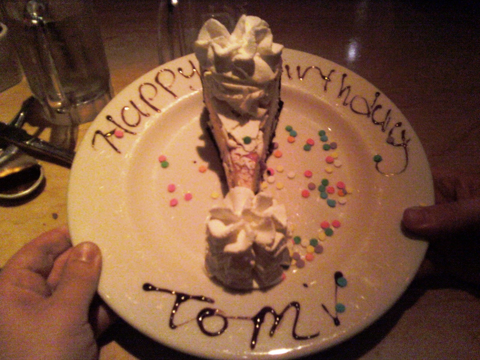 Tom Antonellis Tom Antonellis My Birthday Overwhelmed