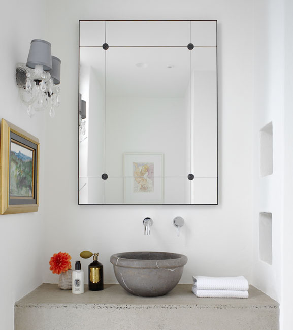 Bathroom vanity wall mirrors