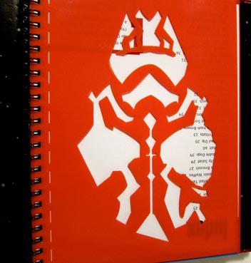 Book Two Comes With A Darth Maul Hard Plastic Stencil