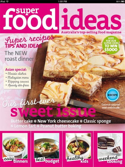 The lone baker journal super food ideas ipad app review forumfinder Choice Image