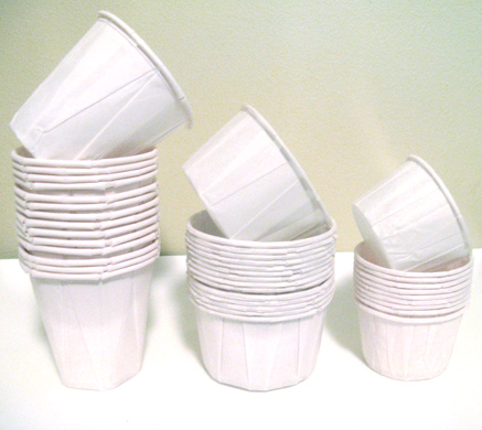 The Lone Baker Journal White Baking Cups