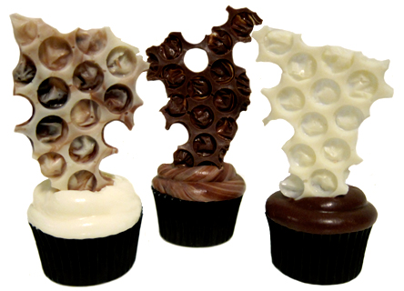 try easy bubble wrap chocolate decorations - Chocolate Decorations